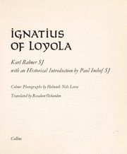 Cover of: Ignatius of Loyola