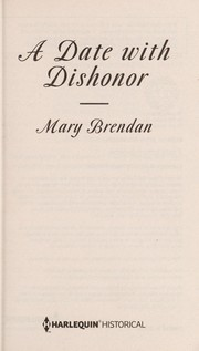 Cover of: A date with dishonor