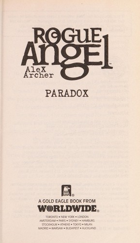 Paradox by Alex Archer
