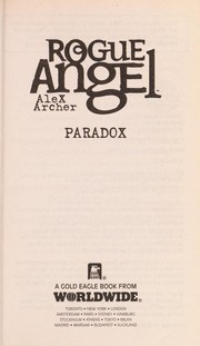 Cover of: Paradox | Alex Archer