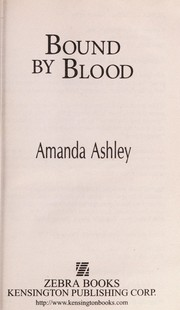 Cover of: Bound by blood