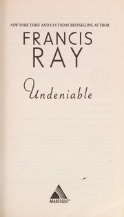 Cover of: Undeniable | Francis Ray