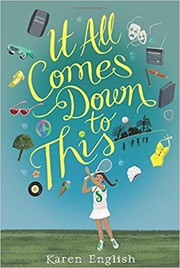 Cover of: It All Comes Down to This |