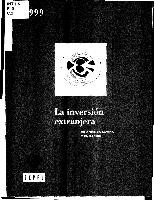Cover of: La inversion extranjera en America Latina y el Caribe : informe 1999 |