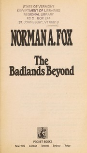 Cover of: The badlands beyond