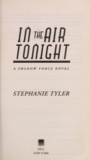 Cover of: In the air tonight