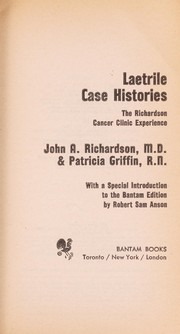 laetrile case histories book pdf