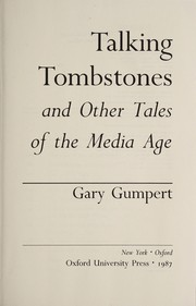 Cover of: Talking tombstones