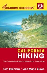 Cover of: Foghorn Outdoors California Hiking | Tom Stienstra