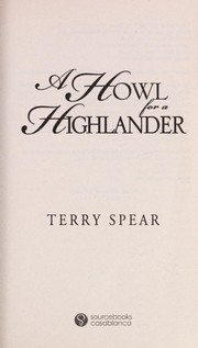 Cover of: A howl for a Highlander | Terry Spear