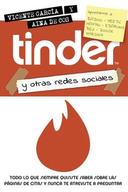 Cover of: Tinder y otras redes sociales by