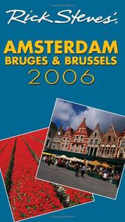 Cover of: Rick Steves' Amsterdam, Bruges, and Brussels 2006 (Rick Steves) | Rick Steves, Gene Openshaw