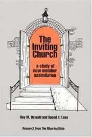 Cover of: The inviting church : a study of new member assimilation