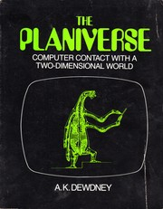 Cover of: The  planiverse: computer contact with a two-dimensional world
