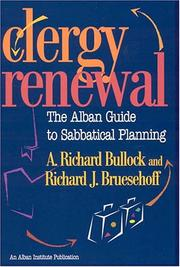 Cover of: Clergy renewal