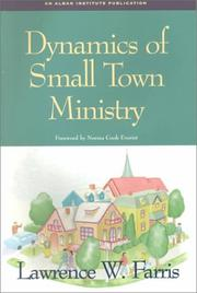 Cover of: Dynamics of small town ministry