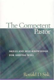 Cover of: The competent pastor