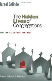 Cover of: The Hidden Lives of Congregations: Discerning Church Dynamics