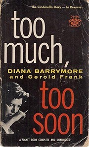 Cover of: Too Much, Too Soon