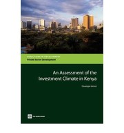 Cover of: An assessment of the investment climate in Kenya | Giuseppe Iarossi