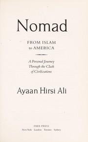Cover of: Nomad | Ayaan Hirsi Ali