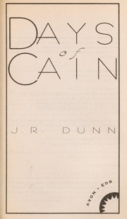 Cover of: Days of Cain