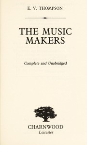 Cover of: The Music Makers