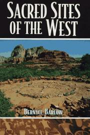 Cover of: Sacred Sites Of The West