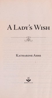 Cover of: A lady's wish