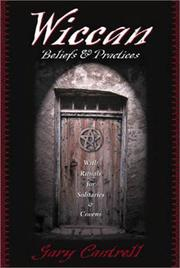 Cover of: Wiccan beliefs & practices | Gary Cantrell