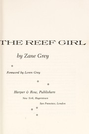 Cover of: The Reef Girl