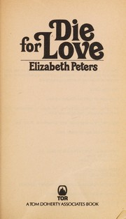 Cover of: Die For Love (Jacqueline Kirby)