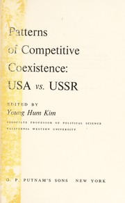 Cover of: Patterns of competitive coexistence