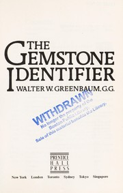 Cover of: The gemstone identifier