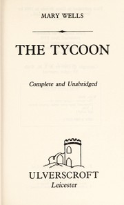 Cover of: The Tycoon