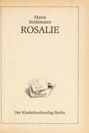Cover of: Rosalie