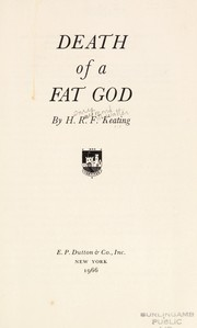 Cover of: Death of a fat god