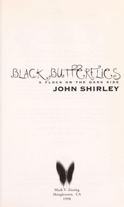 Cover of: Black butterflies : a flock on the dark side |