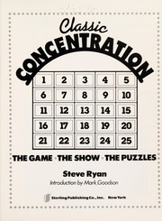 Cover of: Classic Concentration