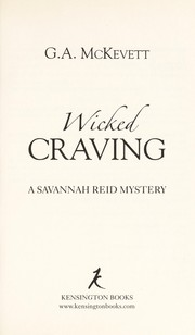 Cover of: Wicked craving