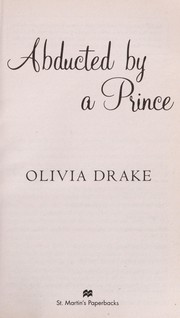 Cover of: Abducted by a prince