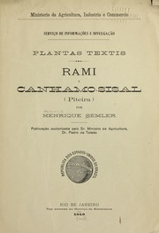 Cover of: Plantas textis