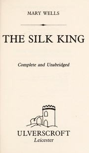 Cover of: The Silk King