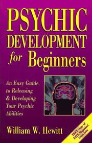 Cover of: Psychic development for beginners