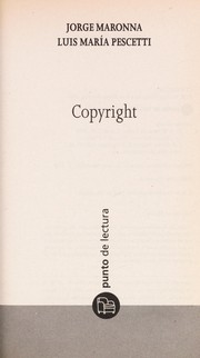 Cover of: Copyright