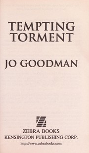 Cover of: Tempting torment