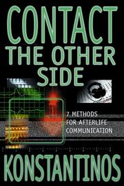 Cover of: Contact the Other Side