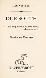 Cover of: Due south | Jan Webster