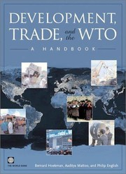 Cover of: Development, trade and the WTO : a handbook