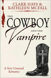 Cover of: The cowboy and the vampire